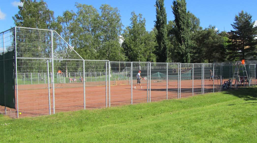 Uudenkaupungin tenniskentät