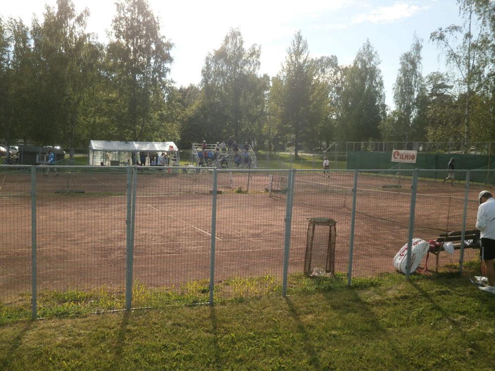 Tenniskentät Uudessakaupungissa